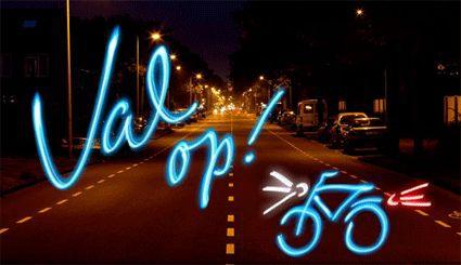 Autorijschool van der Klip Blog - Goede fietsverlichting: de regels ...